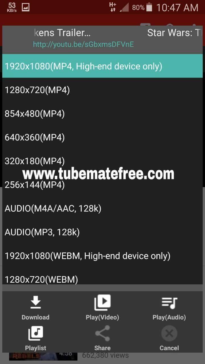 TubeMate APK Mod Ad Free Download
