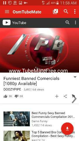 Tubemate 2 2 5 APK Download | TubeMate YouTube Downloader