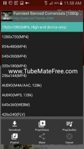 Tubemate 2.2.7 for Android