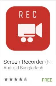 Screen Recorder (No Root)
